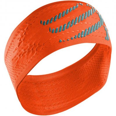 COMPRESSPORT HeadBand On/Off opaska do biegania Pomarańczowy