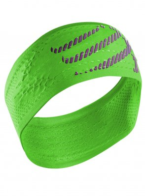 COMPRESSPORT HeadBand On/Off opaska do biegania Zielony