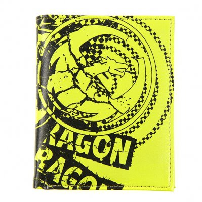 DRAGON Mad Print portfel Zielony