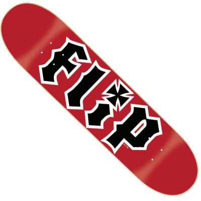 FLIP Team HKD deck do deskorolki Czerwony