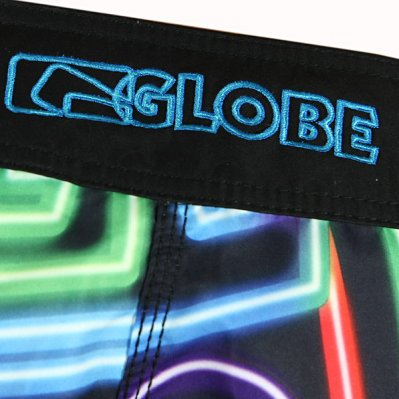 GLOBE Rapture boardshorty Czarny