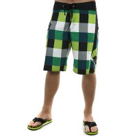 VOLCOM 2Ez Plaid boardshorty