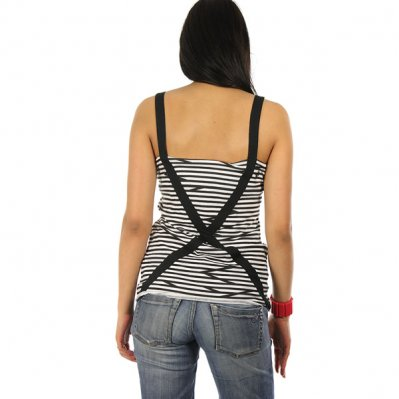VOLCOM Got The Beat Tank bluzka Czarny