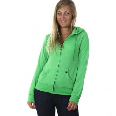 VOLCOM Hd Time Soft bluza z kapturem damska Zielony