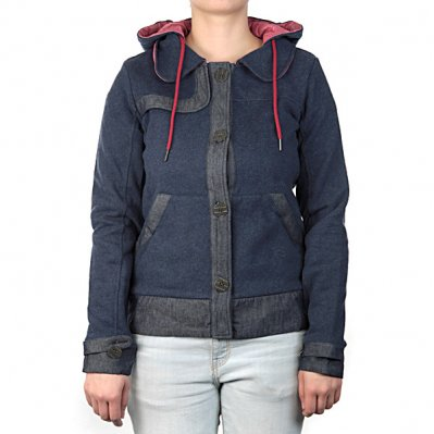 ZOO YORK Coat bluza z kapturem damska