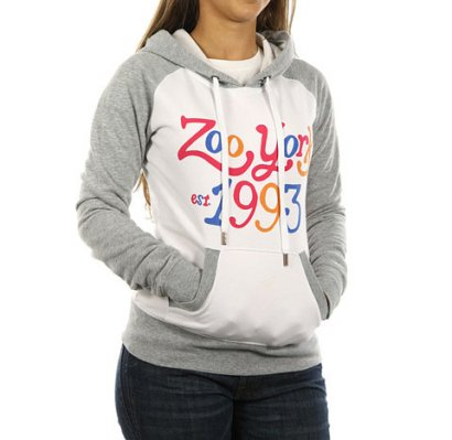 ZOO YORK Color Me bluza z kapturem damska