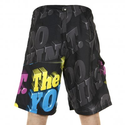 ZOO YORK Solid G boardshorty Czarny