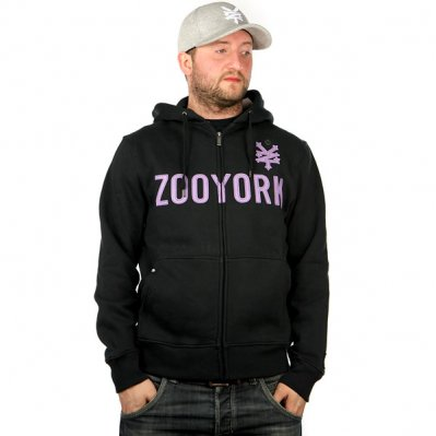 ZOO YORK Straight Core bluza z kapturem Czarny