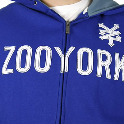 ZOO YORK Straight Core bluza z kapturem Niebieski